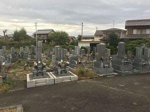 羽島市営 曲利区共同墓地_5811