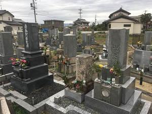 羽島市営 曲利区共同墓地_5812