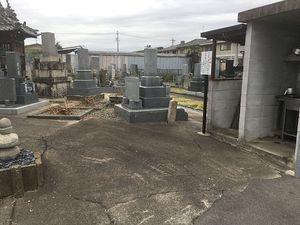 羽島市営 曲利区共同墓地_5813
