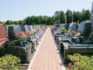 牛久浄苑内のお墓区画