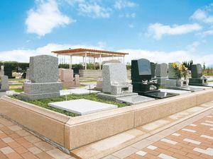 大宮霊園 墓石の建墓例