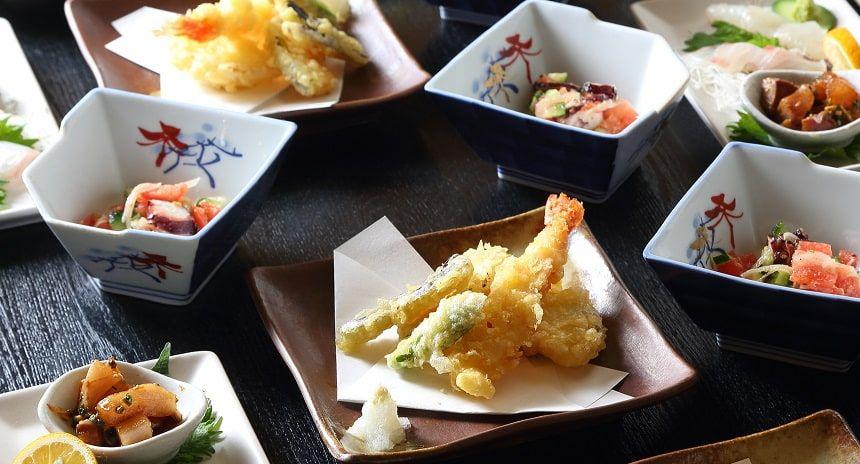 和食の懐石料理