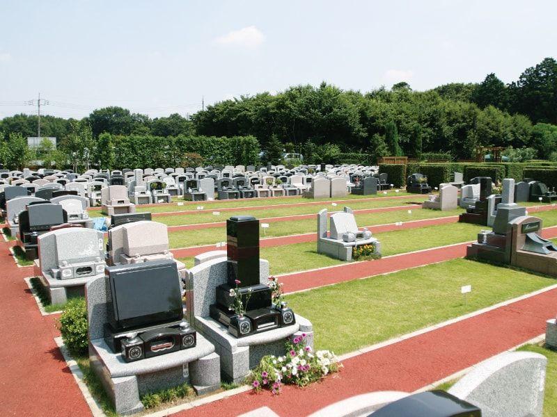 サンクガーデンメモリアル墓地全景