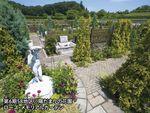 地産霊園の花園入口