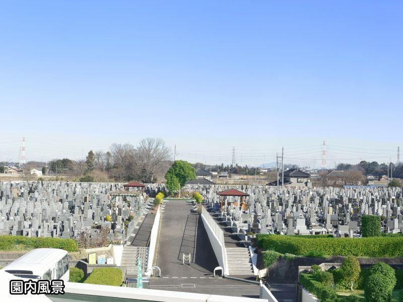 蓮田霊園利休メモリアルパークの全体風景