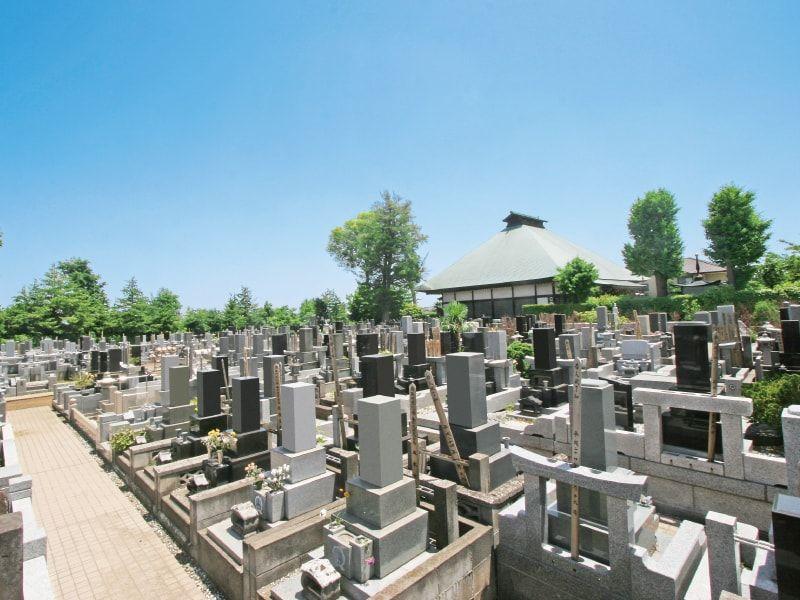 浄安寺墓苑の区画