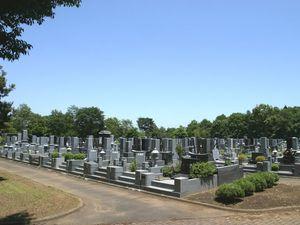 千葉市営平和公園墓地の墓域