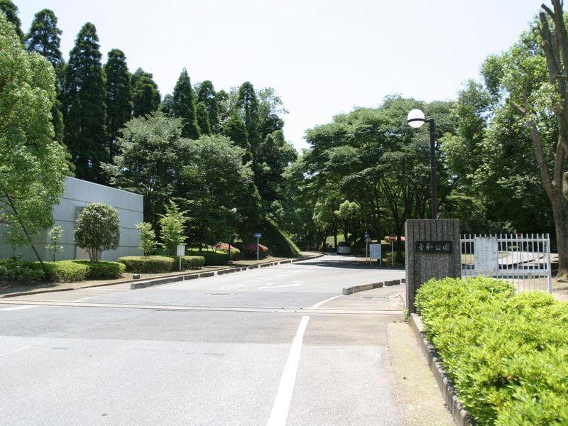 千葉市営平和公園墓地の入口