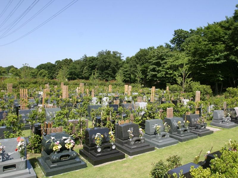 船橋市営馬込霊園のお墓区画