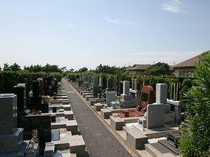 習志野市営海浜霊園の墓域