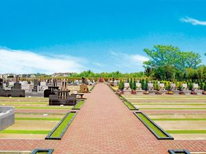 富里中央霊園の全景