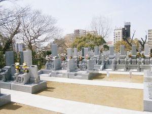 浄春寺夕陽苑のお墓雰囲気