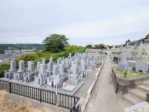 柏原国分ヶ丘墓苑のお墓雰囲気