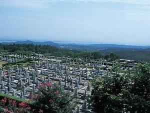 比叡山延暦寺大霊園からの景色