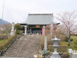 霊園内の延暦寺