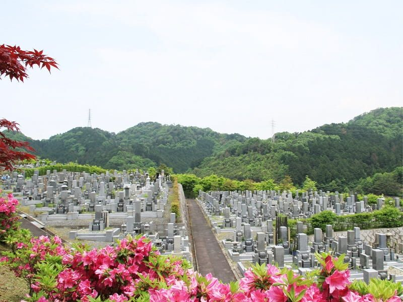 京都霊園の雰囲気
