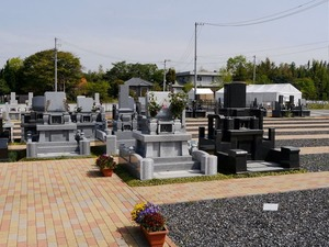 小牧メモリアルパークのお墓雰囲気