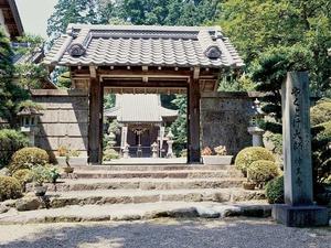芭蕉ヶ丘霊園の入り口