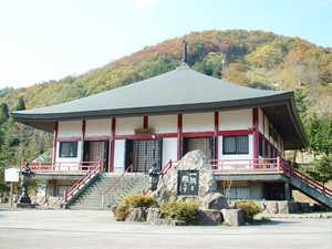 霊園内の医王山寺