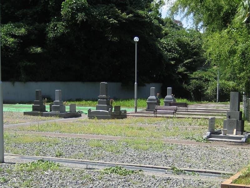 伝燈院東山浄苑の墓地雰囲気