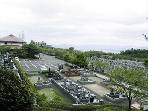 油山平成御廟の全景
