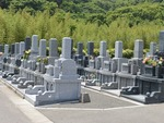 メモリアルパーク宮地岳の墓地雰囲気