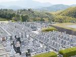 百合ヶ丘霊園の全景