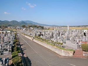 岡垣中央霊園の墓地雰囲気