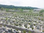 太宰府メモリアルパークの墓地雰囲気