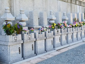 志摩富士見霊園の墓石