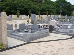 南大阪霊園のお墓雰囲気
