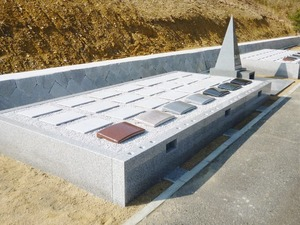 三木霊苑の永代供養墓