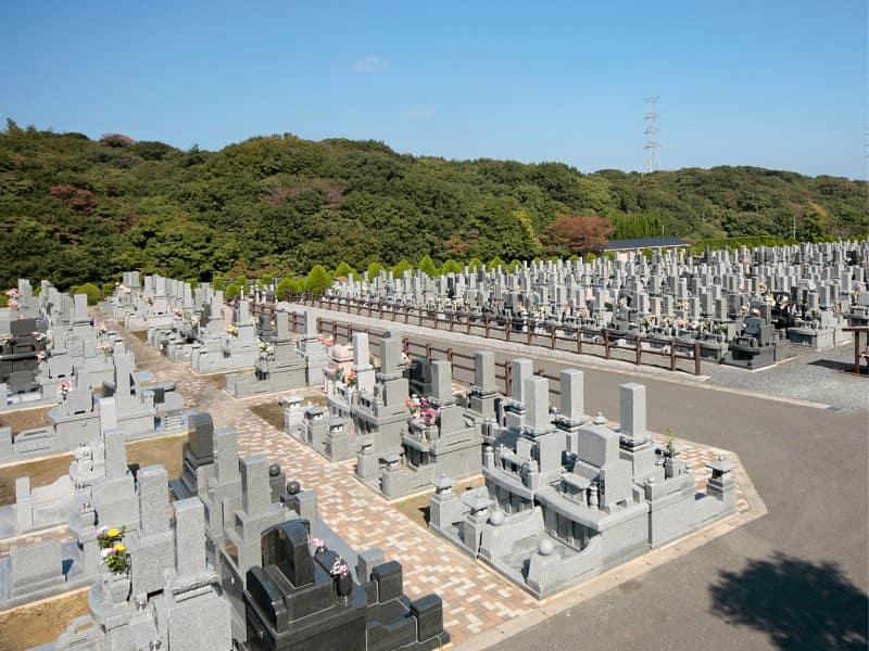高須霊苑の墓地雰囲気