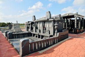 石垣メモリアルパーク墓石イメージ