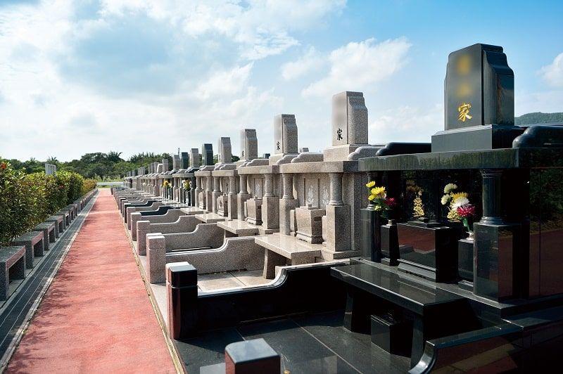 石垣メモリアルパーク沖縄のお墓雰囲気