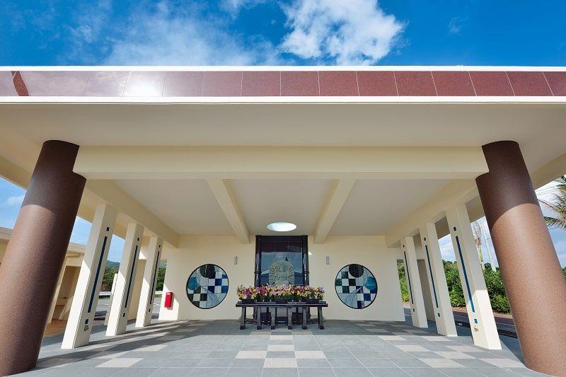 石垣メモリアルパークの永代供養墓