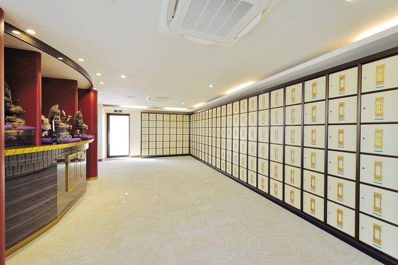 石垣メモリアルパーク納骨堂