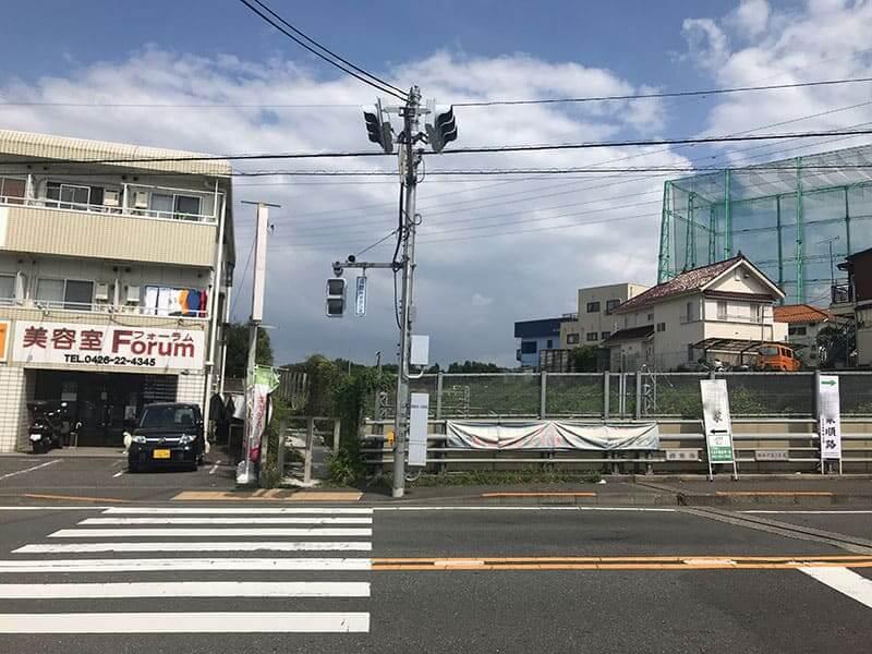 メモリアルガーデン山田までの道