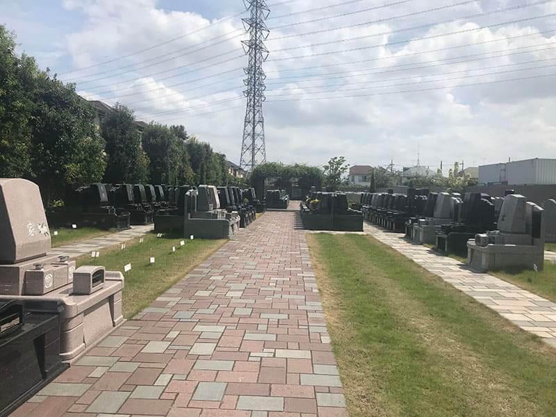 メモリアルガーデン三鷹洋型墓石
