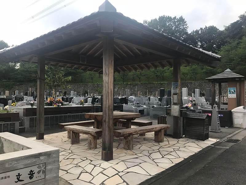 町田いずみ浄苑フォレストパーク休憩スペース