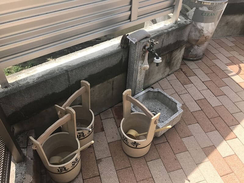 真英寺水汲み場