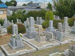 七条町南山墓地の全体風景