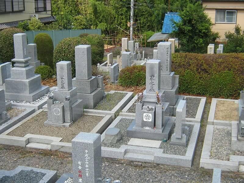 七条町南山墓地のお墓区画