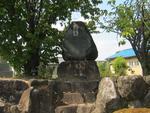 七条町南山墓地の記念碑