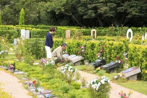 大阪メモリアルパークの樹木葬