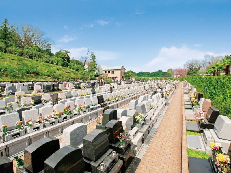 南大沢霊園の全体雰囲気