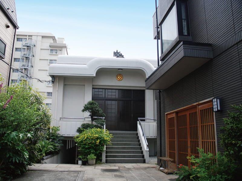 長巌寺の入口