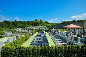 具志川メモリアルパークの区画イメージ