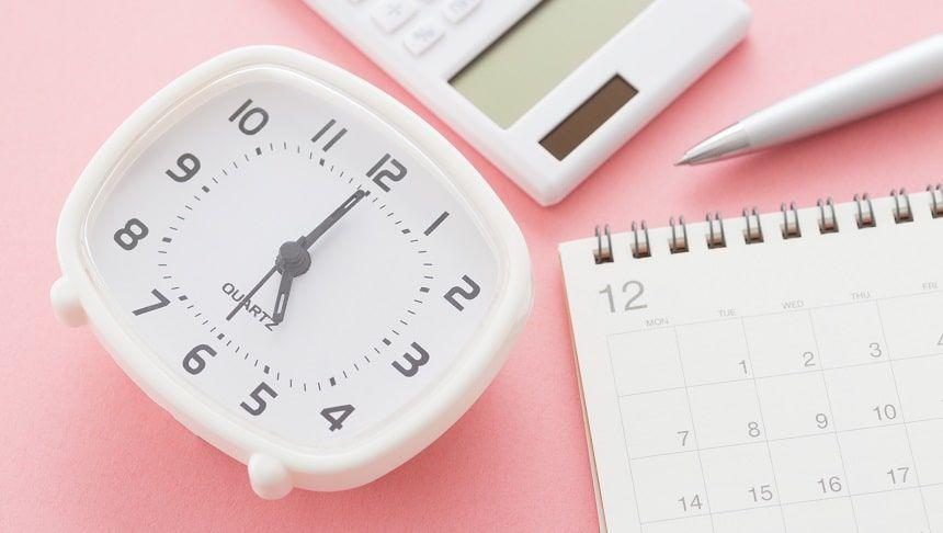 時計とカレンダーと電卓