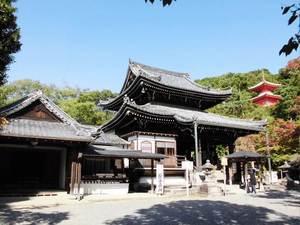今熊野観音寺桜楓苑お寺雰囲気